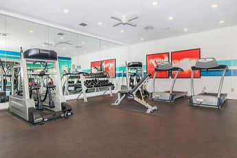 Fitness Weight Room, Oaks of Eagle Creek Apartment Homes, 2