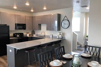 Kitchen, Midvale Station Townhomes, 0