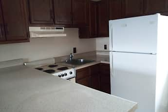 Kitchen, Quail Ridge Apartments, 1