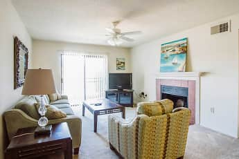 Living Room, Pass Pointe Apts, 0