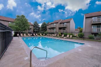 Pool, Parkwest Apartments, 0