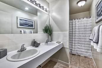 Bathroom, Wilkeswood Apartments, 2