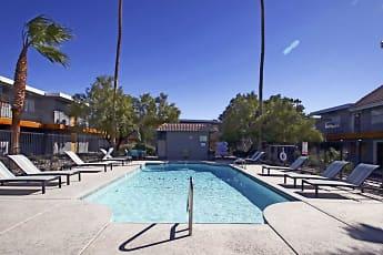 Pool, 1550 Apartments, 1