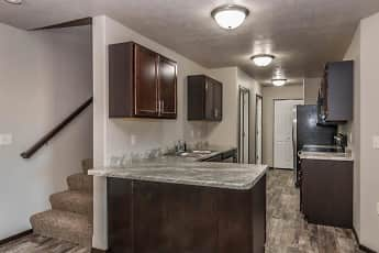 Kitchen, Tigerway Townhomes, 0