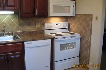 Kitchen, Covered Bridge Apartments, 2