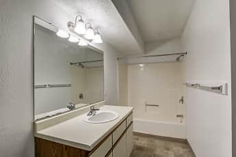 Bathroom, Timber Creek Apartments, 2