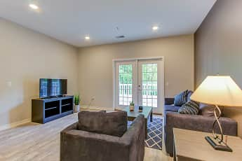 Living Room, Eagles Landing at Mateer Farms, 1