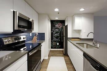 Kitchen, AVA Ballston Square, 1