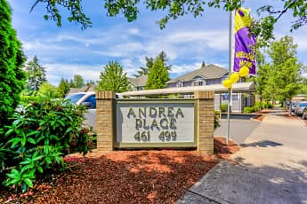 Community Signage, Andrea Place Apartments, 1