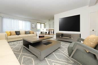 Living Room, Towers Of Windsor Park Apartment Homes, 1