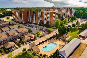 Pool, Pine Ridge Apartments, 0