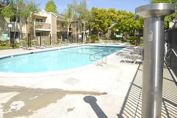 Pool, Woodcreek Apartments, 2