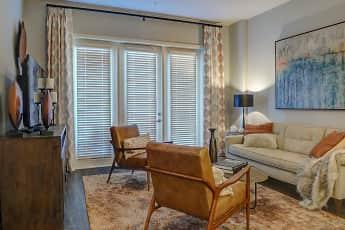 Living Room, 1400 Chestnut, 1