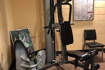 Fitness Weight Room, St Vallerie Apartments, 1