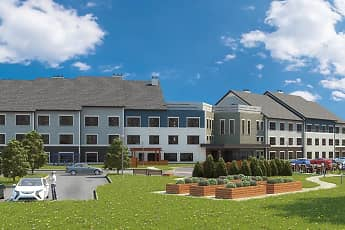 Rendering, Shirley Meadows Senior Housing, 0