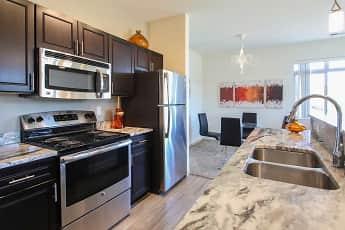 Kitchen, The Pointe Luxury Apartments, 0