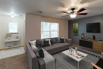 Living Room, The Gables Townhomes, 0