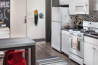 Kitchen, AVA Somerville, 0