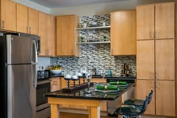 Kitchen, Pinnacle Apartments, 0