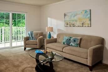 Living Room, Glenmont Abbey Village - 55+ Living, 1