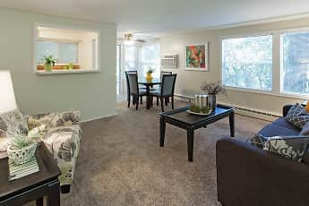 Living Room, Valley Village Apartments, 0