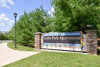 Community Signage, Cedar Park Community, 2