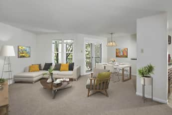 Living Room, Gateway Village Apartments, 0