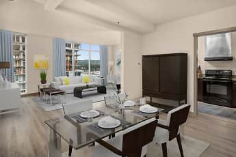 Dining Room, Elements Apartments, 0