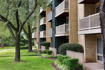 Building, Hilltop Apartments, 1