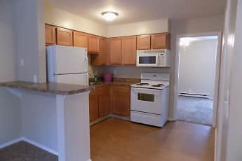 Kitchen, Shady Tree Apartments, 0