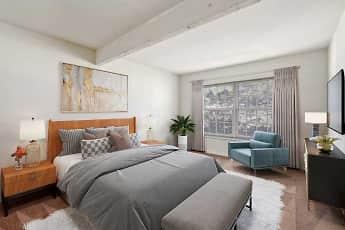 Bedroom, Village 1 Apartments, 0