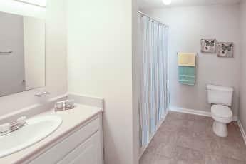 Bathroom, Pacific Park Apartments, 2
