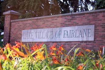 Community Signage, Lake Village Of Fairlane, 1