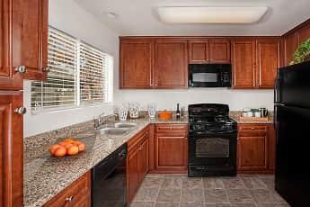 Kitchen, Del Mar Apartments, 0