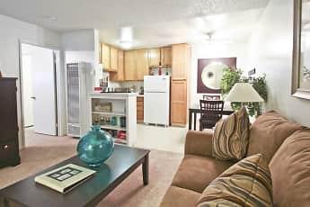 Living Room, Terrace Apartments, 0