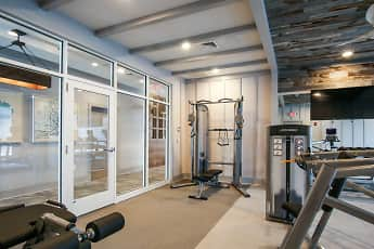 Fitness Weight Room, Saybrook Station, 2
