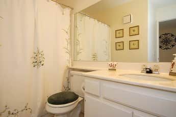Bathroom, Riverpark Apartments, 2