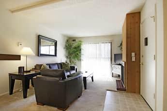 Living Room, Chaparral Apartments, 1