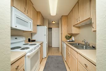 Kitchen, Forest Place Apartments, 0