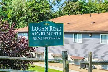 Community Signage, Logan Road Apartments, 0