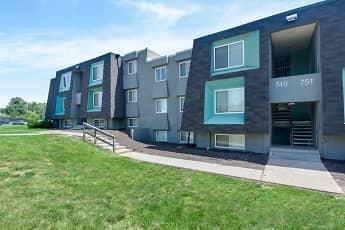 Building, Nori Apartments, 1