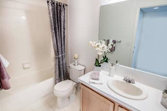 Bathroom, The Enclave Apartments at Waterways, 2