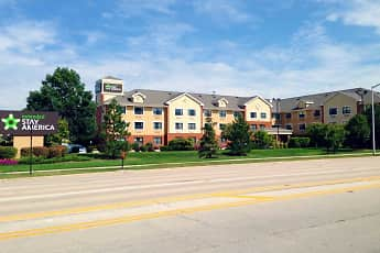 Building, Furnished Studio - Chicago - Woodfield Mall, 0