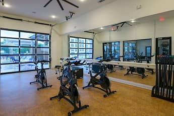 Fitness Weight Room, The Eddy at Riverview Landing, 2