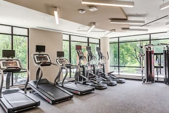 Fitness Weight Room, Lincoln at Wiehle Station Apartments, 0