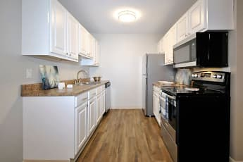 Kitchen, Foote Hills Apartments, 2