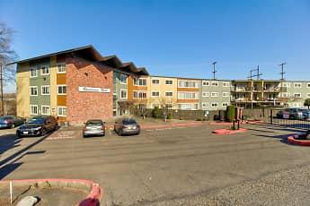 Building, Riverview West Apartments, 0