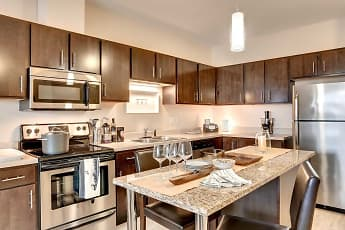 Kitchen, West Side Flats, 1