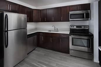 Kitchen, Carlton Apartments, 0