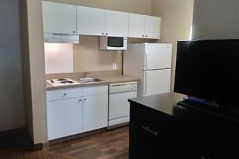 Kitchen, Furnished Studio - Houston - NASA - Bay Area Blvd., 1